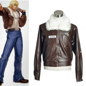 King of Fighters Terry Bogard Halloween Cosplay Costume