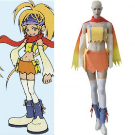 Kingdom Hearts 2 Fairy Rikku Halloween Cosplay Costume