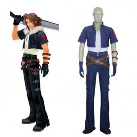Kingdom Hearts Squall Halloween Cosplay