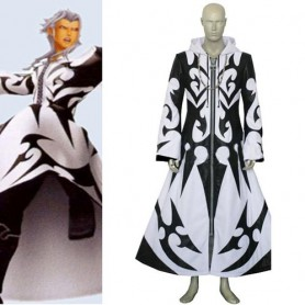 Kingdom Hearts Xemnas Halloween Cosplay Costume