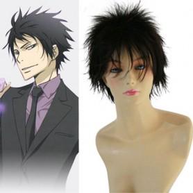 Perfect Reborn Hibari Kyoya Halloween Cosplay Wig