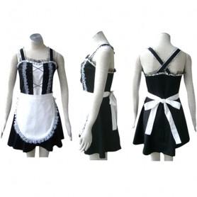 Top Top Black Gothic Lolita cosplay costume