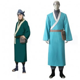 Naruto Ao Uniform Cloth Knitted Fabric Halloween Cosplay Costume