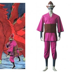 Naruto Four-Tailed Monkey Halloween Cosplay Costume