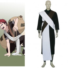 Naruto Gaara Chunin Exam Halloween Cosplay Costume