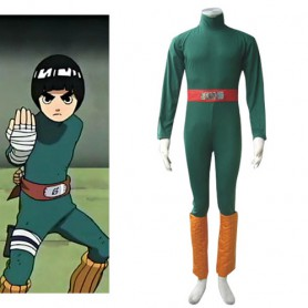 Naruto Rock Lee Halloween Cosplay Costume