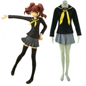 Persona 4 School Uniform Halloween Cosplay Costume