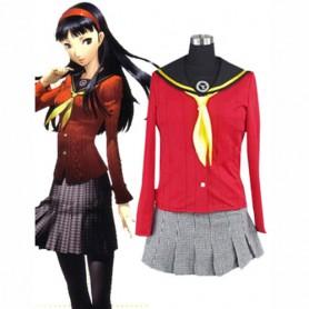 Shin Megami Tensei-Persona 4 Yukiko Amagi Halloween Cosplay Costume