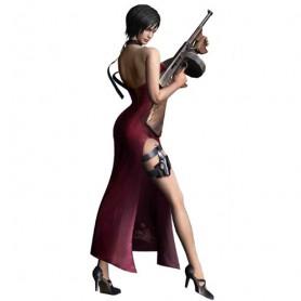 Resident Evil 4 Ada Wong Halloween Cosplay Costume