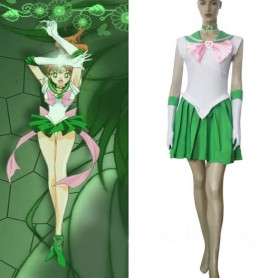 Sailor Moon Sailor Jupiter Makoto Kino Halloween Cosplay Costume