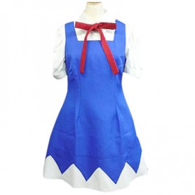 Phantasmagoria of Dim. Dream Cirno Halloween Cosplay Costume