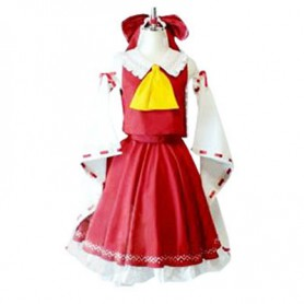Phantasmagoria of Dim. Dream Reimu Halloween Cosplay Costume