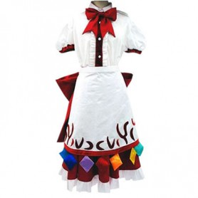 Phantasmagoria of Dim. Dream Tenshi Hinanai Halloween Cosplay Costume