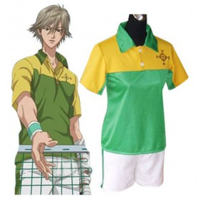 Prince Of Tennis Shitenhoji Middle School Summer Uniform Halloween Cosplay