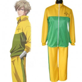 Prince Of Tennis Shitenhoji Middle School Winter Uniform Halloween Cosplay