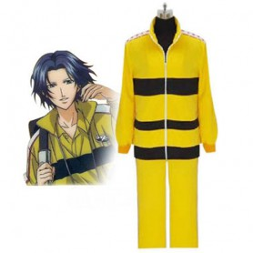 Prince of Tennis Rikkai Yellow Uniform Halloween Cosplay