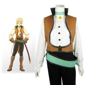 Tales of the Abyss Guy Cecil Halloween Cosplay Costume
