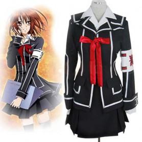 Vampire Knight Day Class girl Kurosu Yuuki Halloween Cosplay Costume