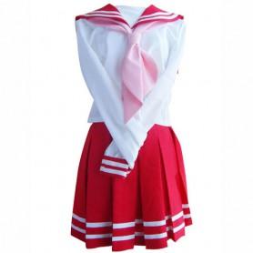 Red School Uniform