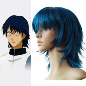 Top Prince of Tennis Oshitari Yuushi Halloween Cosplay Wig