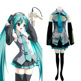 Vocaloid Hatsune Miku Halloween Cosplay Costume