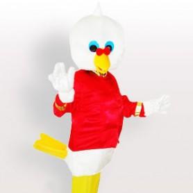 Doctor Pigeon Adult Mascot Costume