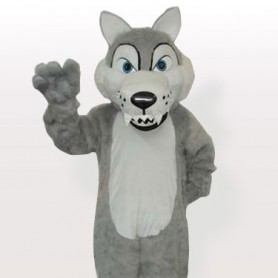 Plush Timber Wolf Adult Mascot