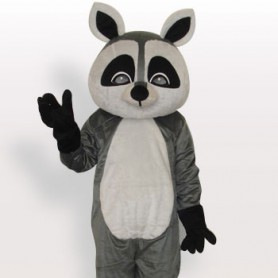 Suitable Raccoon Short Plush Adult Mascot Costume