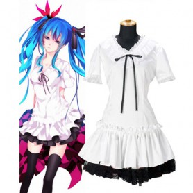 Vocaloid Miku Halloween Cosplay Costume