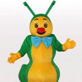 Green Ant Short Plush Adult Mascot Costume
