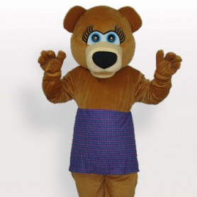 Top Superior Classic Perfect Bear Short Plush Adult Mascot Costume