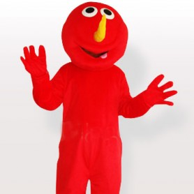 Red Devil Adult Mascot Costume