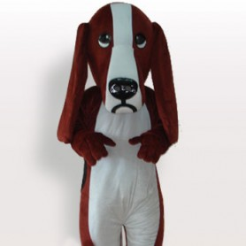 Top Dog Short Plush Adult Mascot Costume