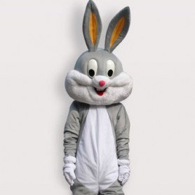 Superior Popular Rabbit Short Plush Adult Mascot Costume