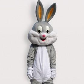 Superior Popular Rabbit Short Plush Adult Mascot Costume