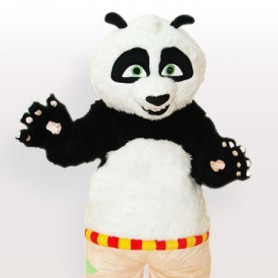 Cool Kungfu Panda Adult Mascot Costume