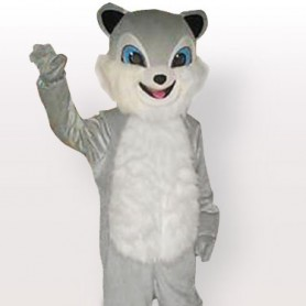 Gray Palm Civet Adult Mascot Costume