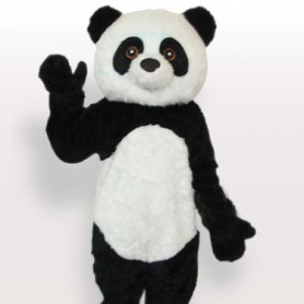 Ideal Plush Panda Adult Mascot Costume