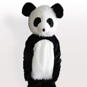 Long Plush Giant Panda Adult Mascot Costume