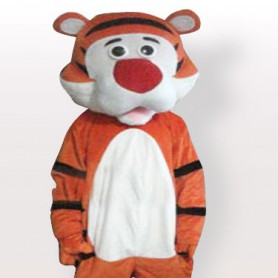 Smarty Tiger Adult Mascot Costume