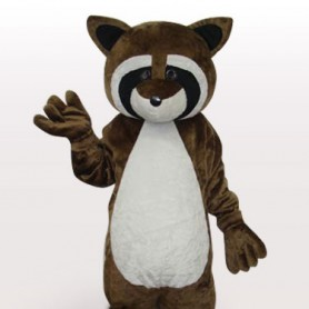 Strange Lynx Short Plush Adult Mascot Costume