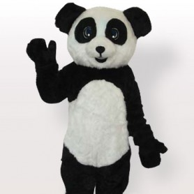 Top Plush Panda Adult Mascot Costume