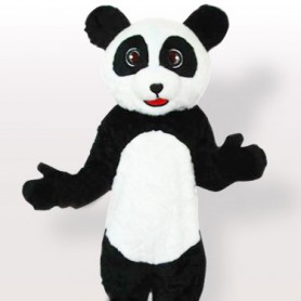 Unusual Plush Panda Adult Mascot Costume