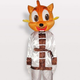 Unusual Top Cat Short Plush Adult Mascot Costume