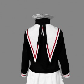 Cardcaptor Sakura Tomoeda Elementary School Female Students Halloween Cosplay Uniform