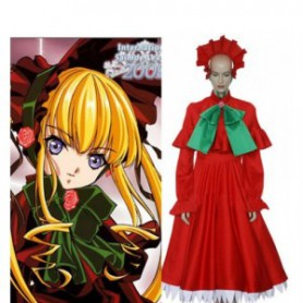 Rozen Maiden Shinku Halloween Cosplay Costume