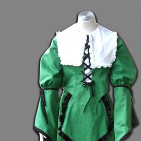 Rozen Maiden Suiseiseki Halloween Cosplay Costume