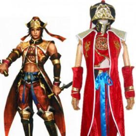 Dynasty Warriors 4 Lu Xun Halloween Cosplay Costume