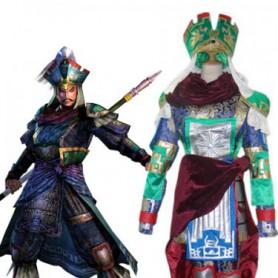 Dynasty Warriors Zhang Liao Halloween Cosplay Costume