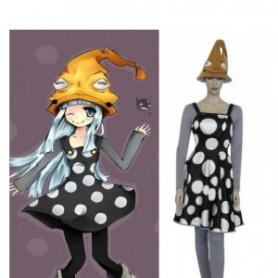 Soul Eater Eruka Frog Dress Halloween Cosplay Costume